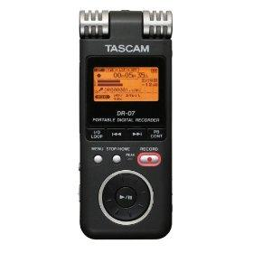 The Tascam DR-07 Digital Audio Recorder
